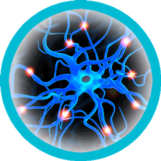 neurons-firing-circle-blue